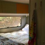 bed caravan